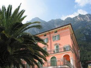 Riva am Gardasee beim Etschradweg