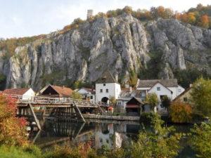 Essing an der Altmühl mit Bruck und Bruckturm