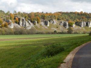12 Apostel Felsen bei Solnhofen im Altmühltal