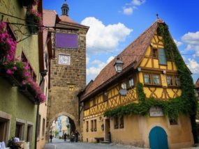 Sieberstor in Rothenburg ob der Tauber