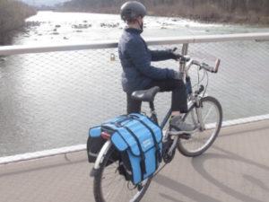 Radler bei Hard am Bodensee