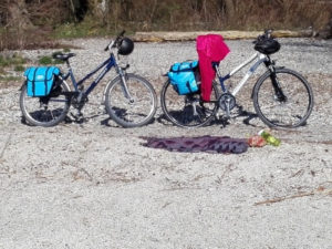 Radlpause am Bodensee