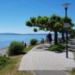 Uferpromenade in Friedrichshafen am Bodensee