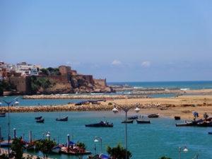 Küste von Rabat in Marokko