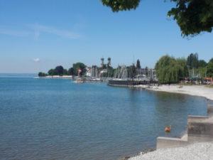 Am See in Friedrichshafen