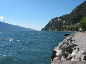 Gardasee von Limone aus