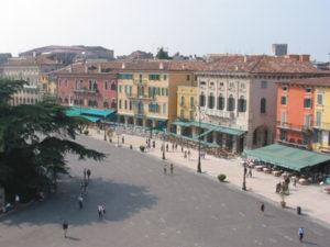 Piazza Brà in Verona