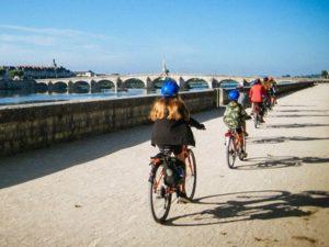 Radler bei Pont Jaques