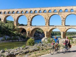 Aquaedukt Pont Du Gard in der Provence