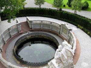 Donauquelle im Schlosspark von Donaueschingen