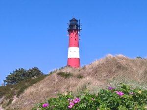 Radreisen für jeden Geschmack, z.B. Insel-Radtouren, hier Leuchtturm Hörnum auf Sylt