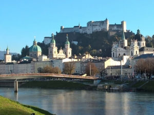 Salzburg und Salzach