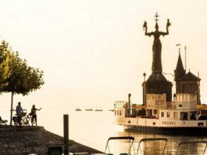 Hafen Konstanz mit Imperia