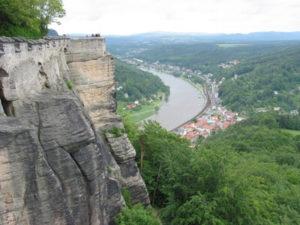 Elbsandteingebirge bei der Festung Königstein