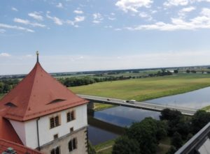 An der Elbe bei Torgau