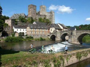 Radreisen in Deutschland, z.B. an der Lahn