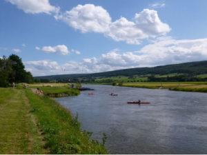 Weserlandschaft bei Hameln