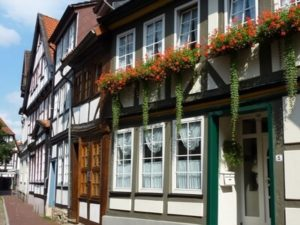 Häuser in Hameln an der Weser