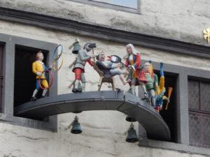 Hann. Münden Glockenspiel mit Dr. Eisenbart