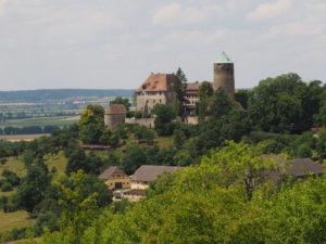 Burg Colmberg nahe der Altmühl-Quelle