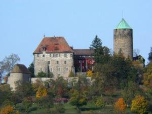 Burg Colmberg, romantisches Hotel am Altmühl-Radweg