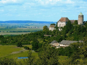 Burg Colmberg nahe der Altmühlquelle