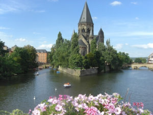 Kirche Temple Neuf in Metz an der Mosel