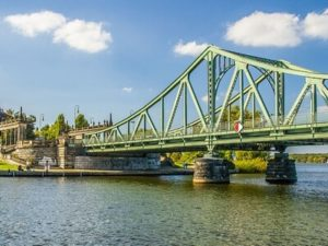 Glienicker Brücke bei Potsdam
